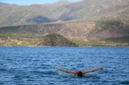 Schwimmen mit diesem Ausblick - Herrlich!!