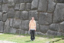Imposante Steinmauern