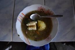 Suppe auf dem Markt