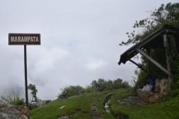 Ziel fast erreicht - Marampata