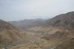 Sandfarbene Wüste