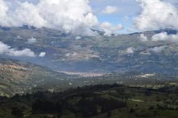 Huaraz von oben