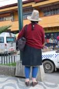 Hut aus Huaraz