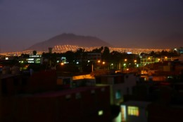 Trujillo by night