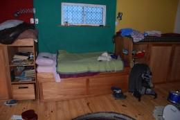 Schlafen im Kinderzimmer in Argentinien