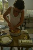 Ich beim Kochen