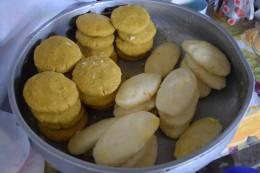 Tortas de Verde y Yuca