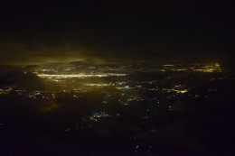 Aussicht nachts