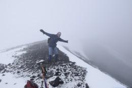 Ich auf 5016 m Höhe