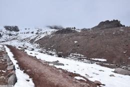 Camino hacia el segndo refugio