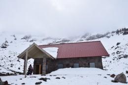 Refugio Whymper auf 5000 m