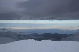 7 Uhr früh - Die Ankunft auf dem Gipfel