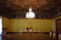 El palacio del presidente