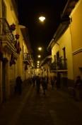 Calle La Ronda by night