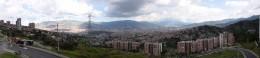 Panorama von Medellín