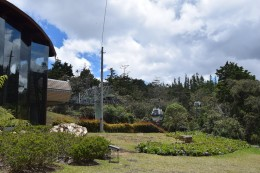 Gondeln im Parque Arví
