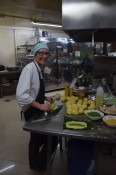 Preparando Tamales