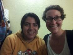 Andrea y yo =)