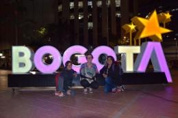 Bogotá mit den Mädels