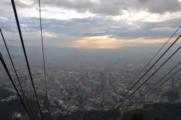 Bogotá von oben