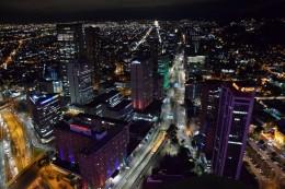 Bogotá bei Nacht