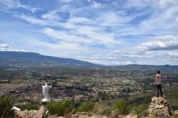 Villa de Leyva desde el cerro