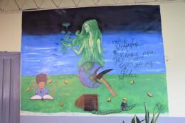 Graffiti in der Schule