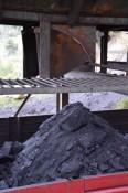 Kohle auf dem LKW-Anhänger