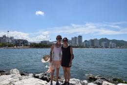 Carolina & Ich in Santa Marta