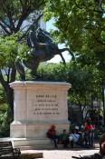 Statur von Simón Bolívar