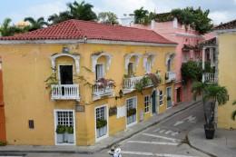 Koloniale Häuser