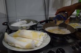 Tapioca con queso y/o guayaba