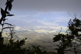 Vista hacia la Gran Sabana