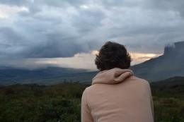 Vista hacia el Tepui Kukenan