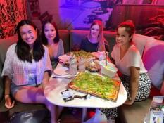 vl: Alinia, Minh, ich & Arancha