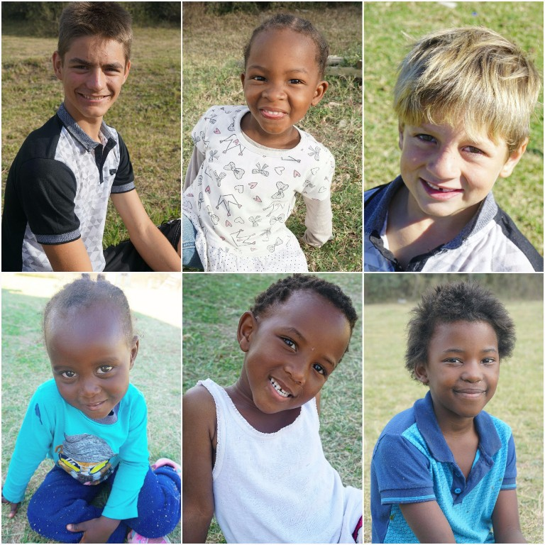 William, Akohna, Jadon, Ana, Naledi und Musa :)