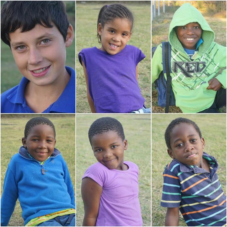 Trevor, Uhkona, Liya, Lihle, Aya und Buhle :)