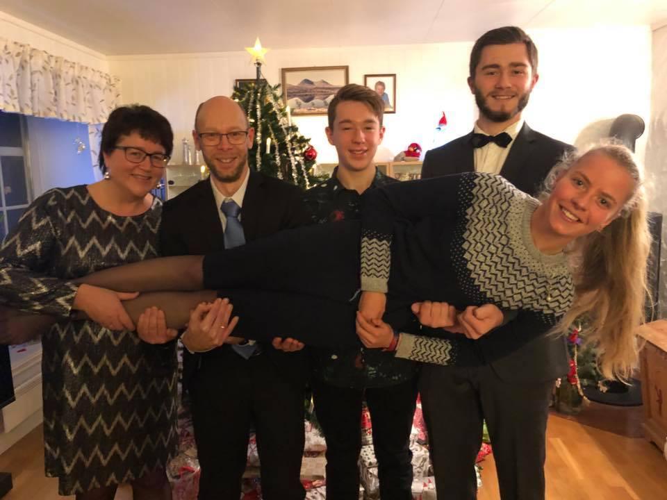 An Weihnachten wurde ich wortwörtlich auf Händen getragen.