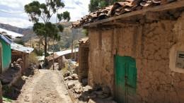 ein peruanisches Bergdorf