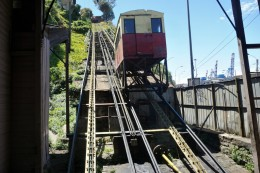 einer der 9 Aufzüge in Valparaíso