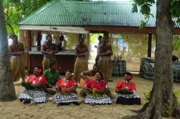 Traditionelle Tänze und Gesang aus Fidschi