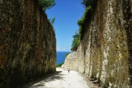 auf dem Weg zum Nyang Nyang Beach