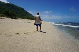 ein einsamer Strand auf Bali!