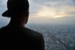 Aussicht vom Taipei101