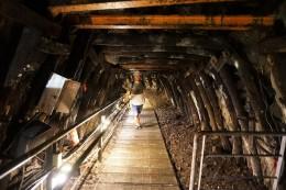 Tunnel No. 5 im alten Bergwerk