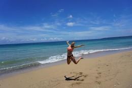 der einsame Strand :)
