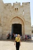 das Jaffa-Gate: einer der Eingänge zur Altstadt