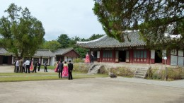 zum Koryo-Museum kommen viele Brautpaare