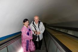 U-Bahn in 100 m Tiefe