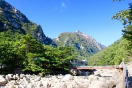 Unterwegs am Mt Kumgang